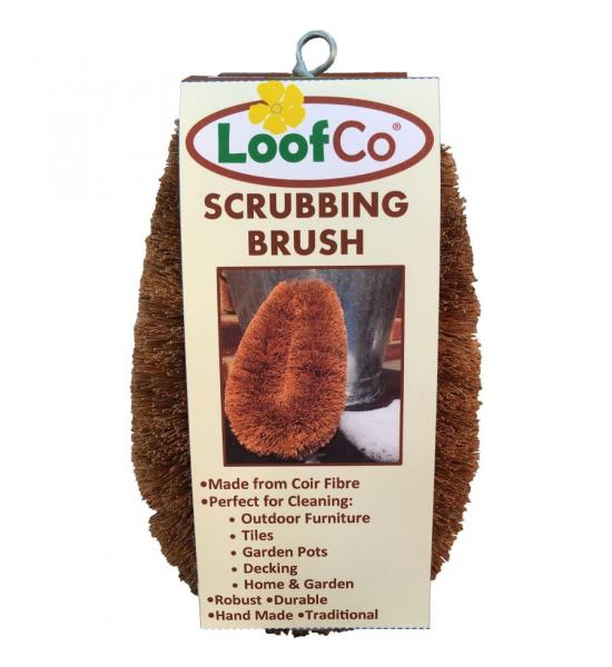 Большая кокосовая щетка для уборки Loof Co