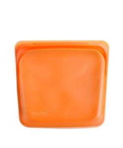 Силіконовий харчовий контейнер Stasher, sandwich bag 450 мл, колір Citrus