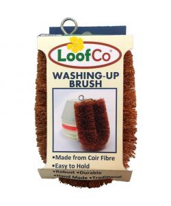 Средняя кокосовая щетка для уборки Loof Co